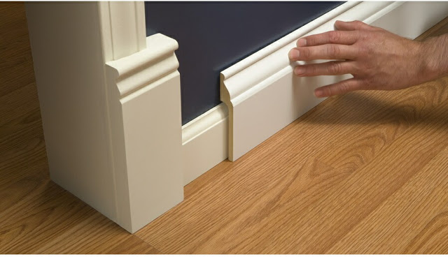 Swell Install Wide Baseboard Molding Over Existing Narrow Download Free Architecture Designs Scobabritishbridgeorg