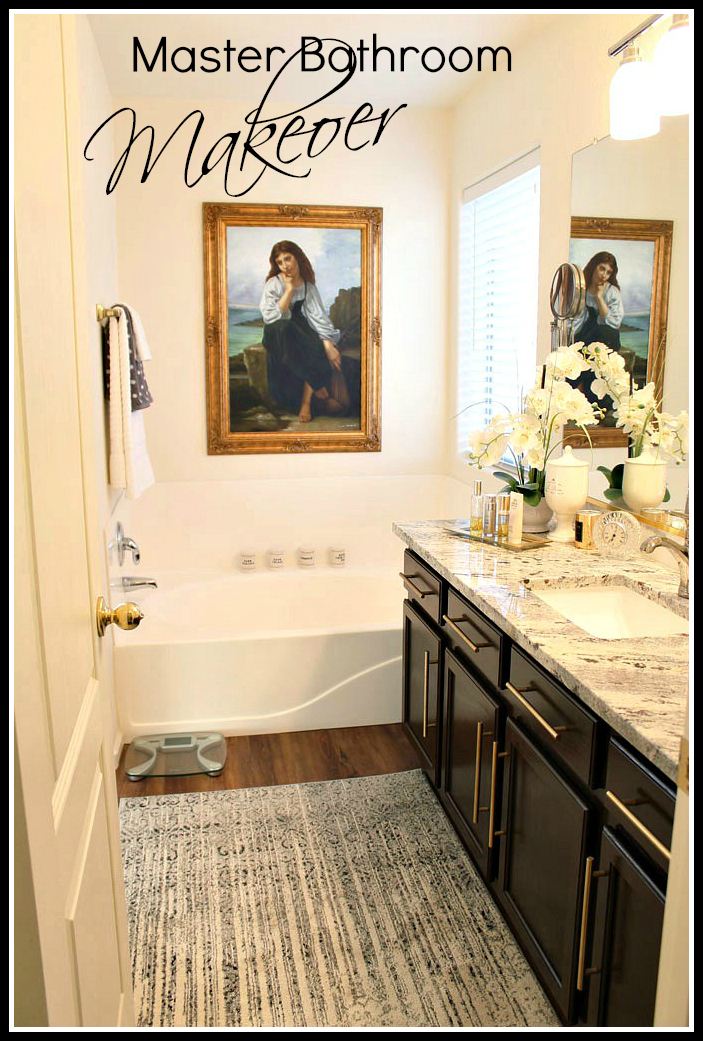 Budget Bathroom Makeovers A Stroll Thru Life