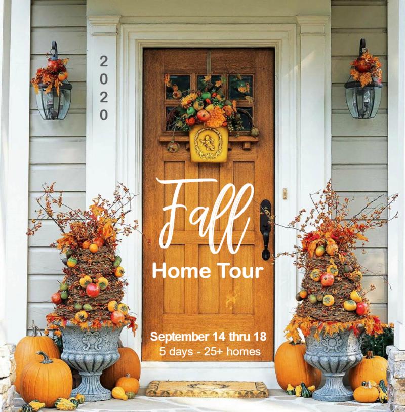 Fall home tour.
