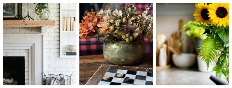 fall decorating ideas collage