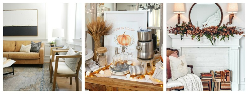 pictures of Fall decor